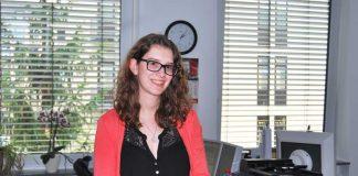 Katharina Krause vom Team für Internationalen Urkundenverkehr beim Regierungspräsidium Darmstadt