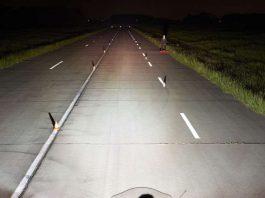 Sehen und gesehen werden, Lichttest Motorräder (Foto: ADAC)
