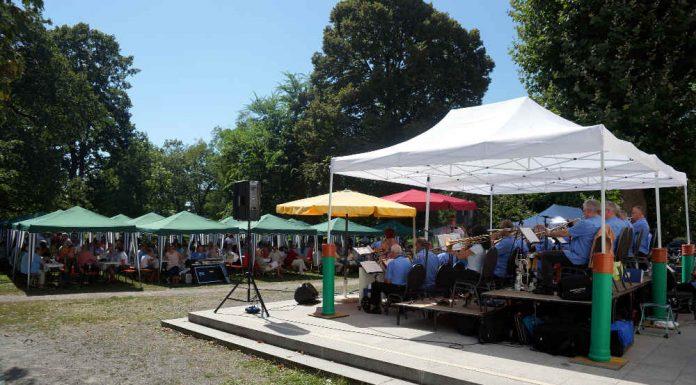 Beim 18. Summertime Jazz spielte die TC Big Band. (Foto: Holger Knecht)