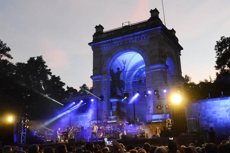 Rock am Friedensdenkmal (Foto: Helmut Dell)