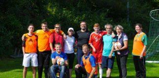 Der Fußball zählt auch bei Menschen mit einem Handicap zu den populärsten Sportarten (Foto: Badischer Fußballverband)