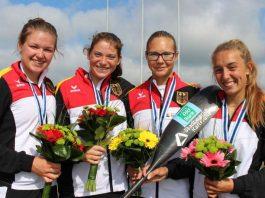 Jule Hake, Kim Riedle, Clara Thieme und Katinka Hofmann (Foto: Amrein)