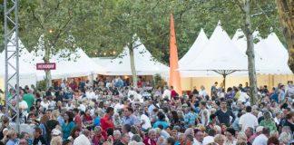 Am ersten Septemberwochenende 2016 ist es wieder so weit: BASF feiert ihr Kellereifest auf dem Parkplatz an der Anilinstraße in Ludwigshafen