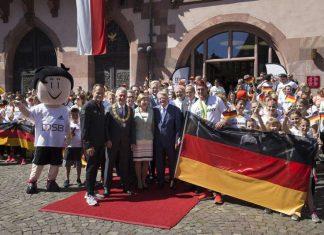 Willkommensfeier der Deutschen Olympiamannschaft 2016 (Foto: DOSB/Christian Christes)
