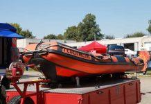 Symbolbild, Feuerwehr, Wasserrettung, Schlauchboot