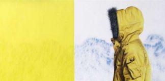 (1) Daniel Odermatt: Ankunft, 2016, Öl auf Leinwand, 120 x 100 cm