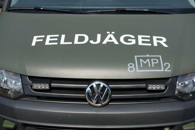 Die Mainzer Feldjäger sind dem Feldjägerregiment 2, Hilden unterstellt (Foto: Holger Knecht)