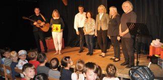 v.l.: Malcolm und Julia Donaldson, Markus Dorner, Ilona Schulz, Heike Kaster-Meurer, Uta und Günter Weiskopf (Foto: Stadt Bad Kreuznach)