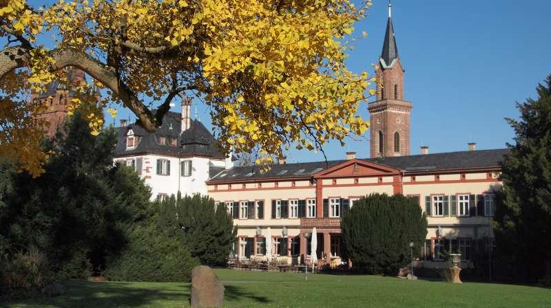 Das Schlossparkrestaurant (Foto: Stadtverwaltung Weinheim)
