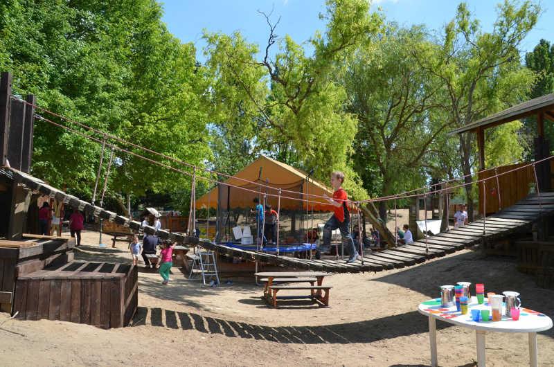 LudwigshafenOggersheim Der Abenteuerspielplatz feiert