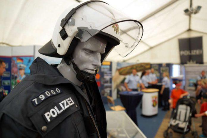 Foto vom Stand der Bundespolizei am RLP-Tag (Archivfoto 2015, Foto: Holger Knecht)