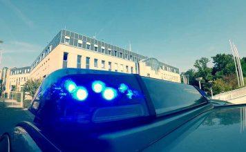 Symbolbild Polizei, Blaulicht