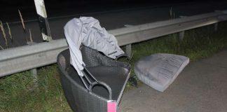Die verlorene Ladung (Foto: Polizei)