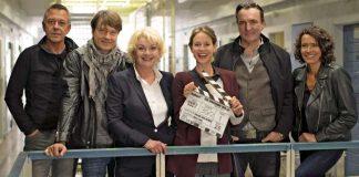 Jürgen Carle, Roland Suso Richter, Saskia Vester, Lisa Bitter, Andreas Hoppe und Ulrike Folkerts (Foto: SWR/Nils Reinhard)