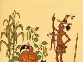 Kinder lernen spielerisch, welche Lebensmittel die Maya aßen. (Grafik: Michael Ruppel)