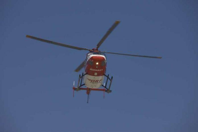 Dieser Hubschraubertyp kommt auch auf dieser Station zum Einsatz. (Foto: DRF Luftrettung)