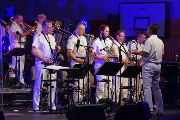 Der Saxophonsatz (Foto: Holger Knecht)