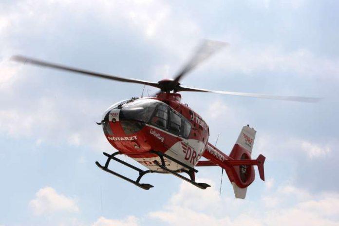 Dieser Hubschraubertyp kommt auch auf dieser Station zum Einsatz. (Foto: DRF / Andreas Kretschel)