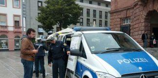 Beamtinnen und Beamten der PI Mainz 1 unterstützt. (Foto: Polizei)