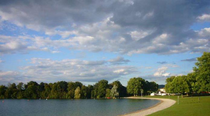 Schön, aber 2016 eingeschränkt erholsam: Das Strandbad Waidsee