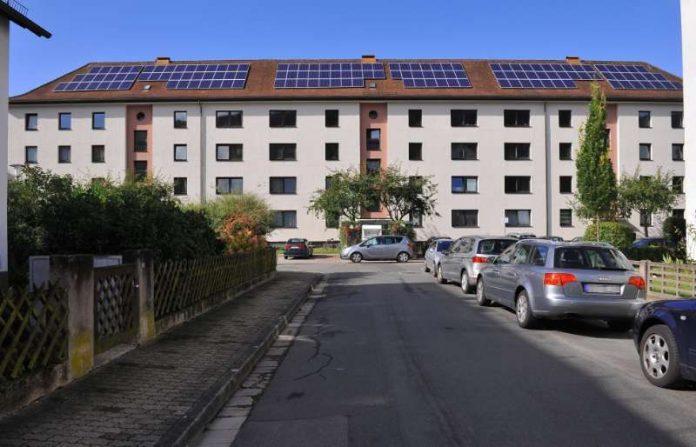 Photovoltaik-Anlage in der Kirschgartenstraße (Foto: Stadtwerke Heidelberg GmbH)