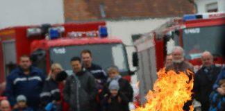 Eine der zahlreichen Vorführungen (Foto: Feuerwehr Landau)