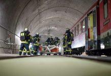 Am 30.10.16 findet eine Großübung im Mainzer Eisenbahntunnel statt (Foto: Feuerwehr Mainz)