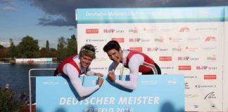 Jason Osborne (links) und Cedric Kulbach (Karlsruher RV Wiking) (Foto: Ralf Thanhäuser)