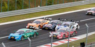 Kämpfen um den DTM-Titel: Marco Wittmann (#11, BMW), Edoardo Mortara (#48, Audi) und Jamie Green (#53, Audi) (Foto: ITR GmbH)