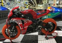 Honda CBR 1000 RR im AUTO & TECHNIK MUSEUM SINSHEIM