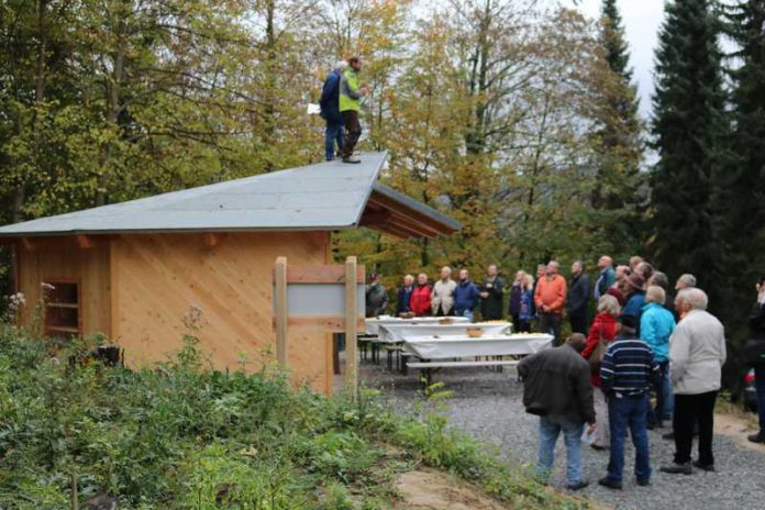 Weinheim Exotenwald Unter Dach Und Fach Kreisforstamt Und