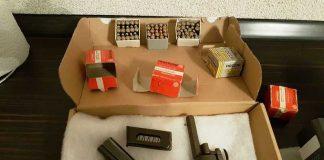 Die in der Wohnung sichergestellten beiden Waffen nebst Munition