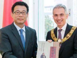 OB Feldmann mit Generalkonsul Wang (Foto: Stadt Frankfurt)