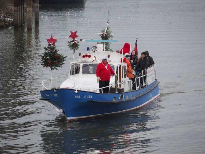 Die Adventsfahrten im Polizeiboot sind sehr beliebt (Foto: Techneoseum)