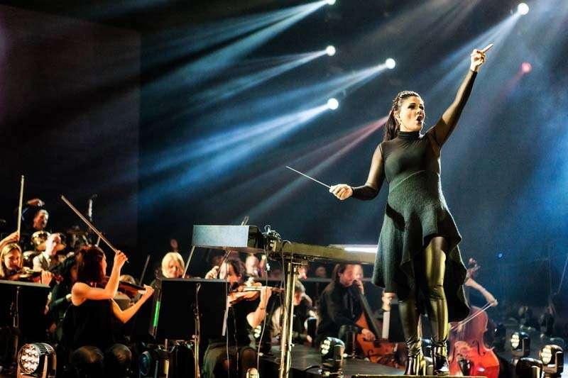 Il Novecento mit der Dirigentin Alexandra Arrieche (Foto: Bart Heemskerk)