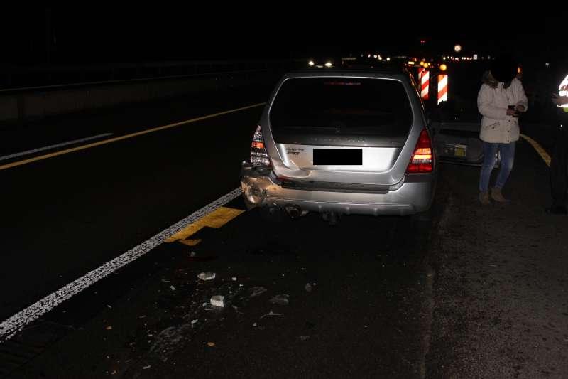 Unfallbeteiligtes Fahrzeug (Foto: Polizei)
