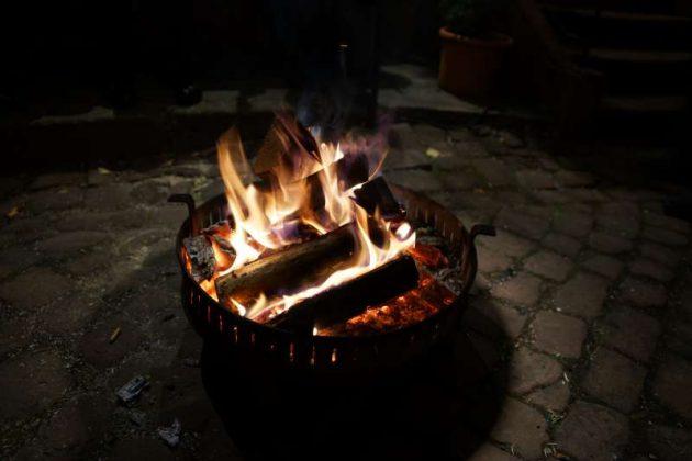 Wohliges Feuer (Foto: Holger Knecht)