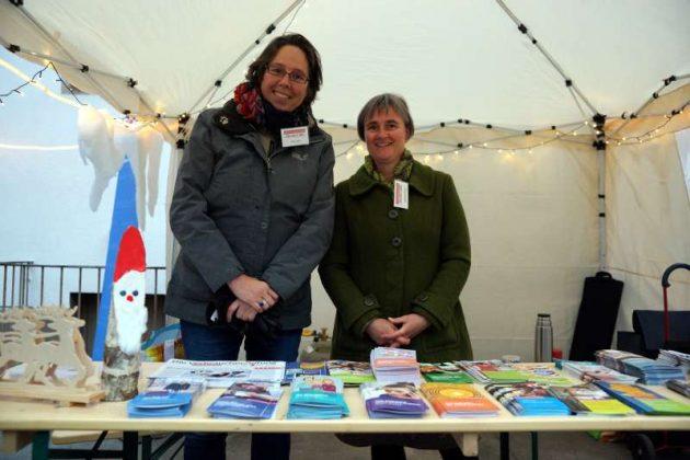 Tamina Barth und Claudia Zein-Schuld von der Verbraucherzentrale Rheinland-Pfalz (Foto: Holger Knecht)