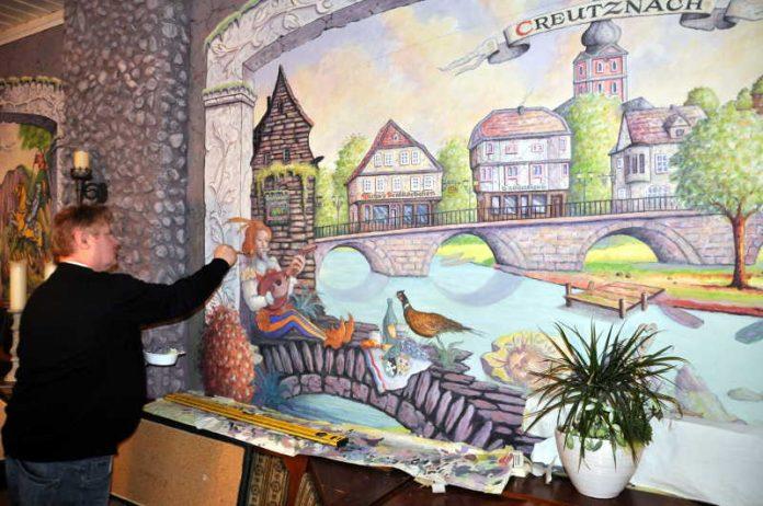 Wandmaler Harry Wittlinger