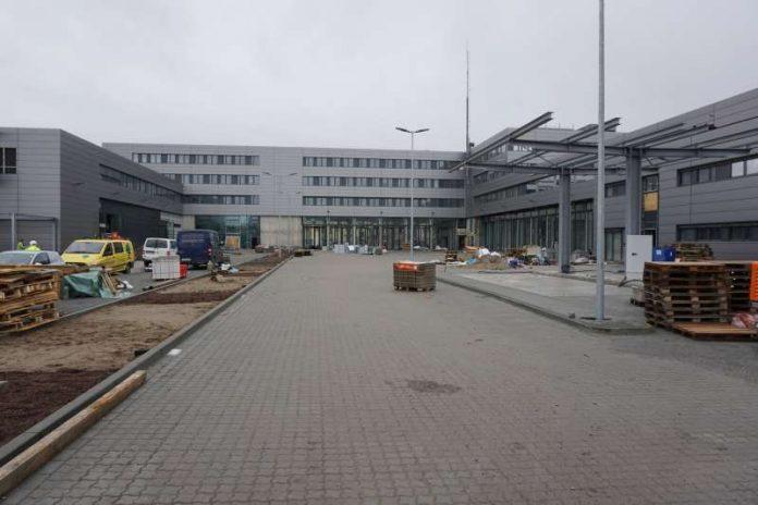 Hier entsteht die neue Hauptfeuerwache (Foto: Stadt Mannheim)