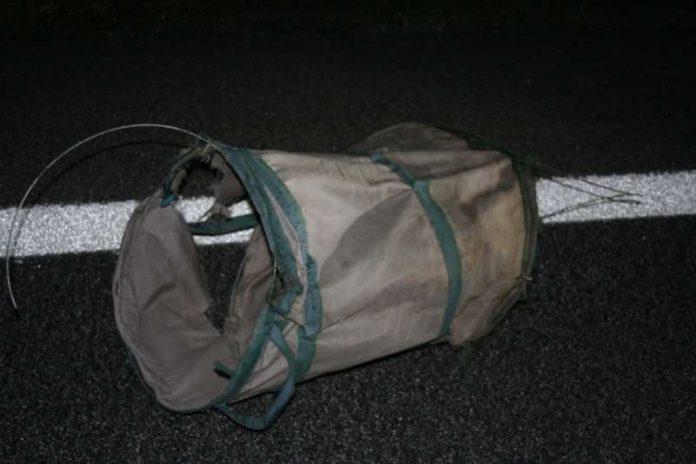 Abfallsack (Foto: Polizei)