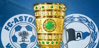 DFB-Pokalspiel zwischen FC-Astoria Walldorf und DSC Arminia Bielefeld