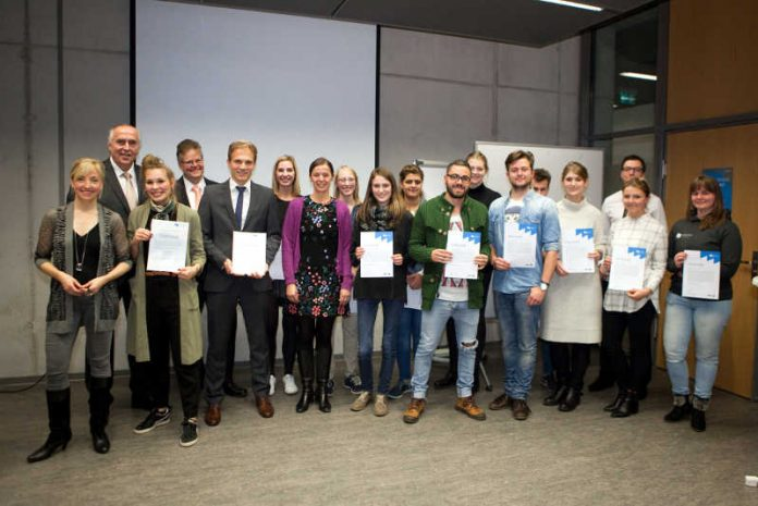 Verleihung Preis des Hochschulrats Hochschule Mainz 2016
