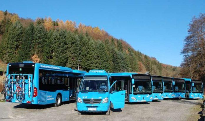 VGG fährt die Buslinien im Linienbündel Odenwald Nord (Foto: VRN)