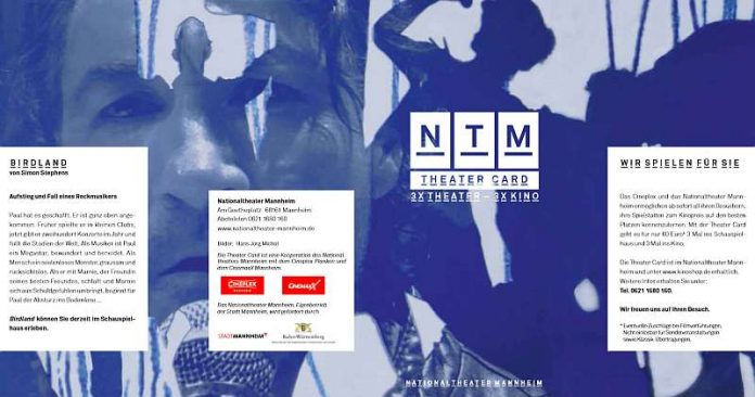 Theater Card des NTM