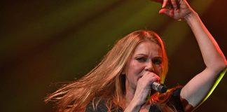 Anna Loos, die Frontfrau der Band (Foto: Helmut Dell)