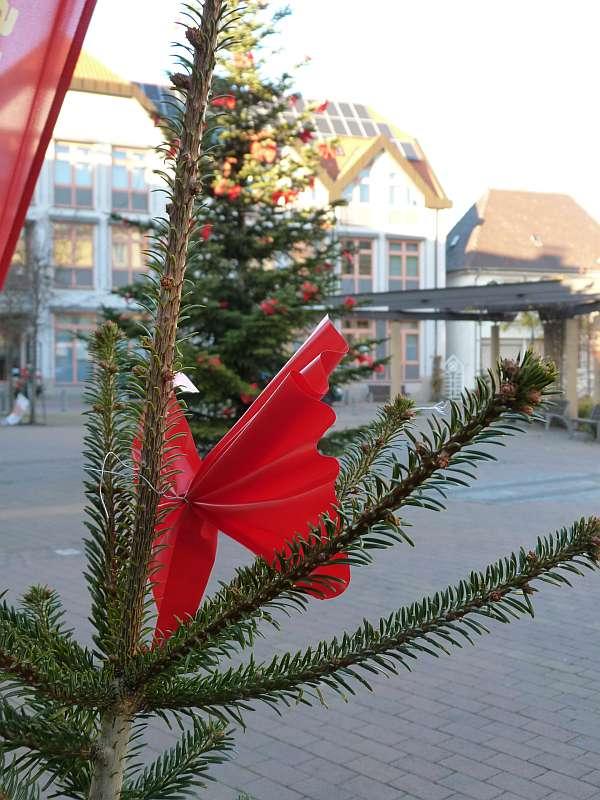 Sparkasse sorgt für Vorweihnachtsfreude in Schifferstadt. (Foto: Sparkasse Vorderpfalz)