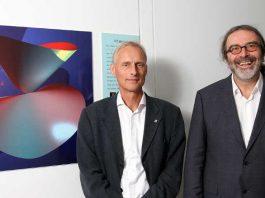Prof. Gunter Malle (li.) und Prof. Wolfram Decker (re.)