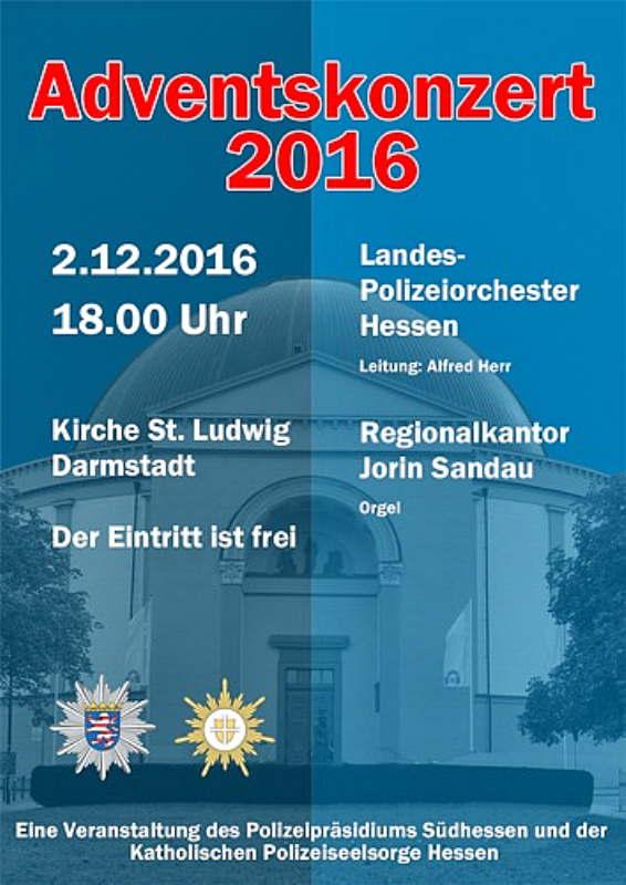 Traditionelles Adventskonzert mit dem Landespolizeiorchester