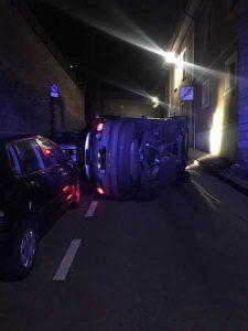Der Fahrer hatte zuviel Alkohol getrunken
